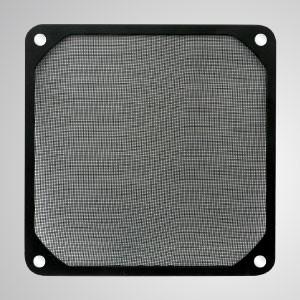 ファン/ PCケースカバー用の埋め込み磁石付き120mmクーラーファンダストメタルフィルター - 磁石が埋め込まれた120mmメルタルフィルターにより、工具なしでスチールシャーシに簡単に取り付けることができます。