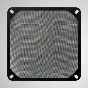 Пылевой металлический фильтр для 120-мм вентилятора кулера для корпуса вентилятора - Сам фильтр представляет собой изысканную металлическую сетку, предназначенную для защиты устройств. Держите пыль подальше и легко очищайте пыль. Предлагаем вам быстрый и простой способ защиты от пыли