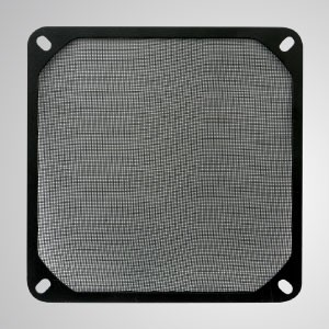 ファン/ PCケース用120mmクーラーファンダストメタルフィルター - ファイラー自体は、デバイスを保護することを目的とした絶妙な金属メッシュです。ほこりを寄せ付けず、ほこりを簡単に掃除してください。速くて簡単な防塵方法を提供します