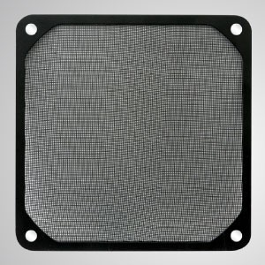 140mm Cooler Fan Dust Metal Filter with Embedded Magnet for Fan / PC Case Cover - 140mm Meltal Filter with Embedded magnet, making you easily attach on any steels chassis without tools.