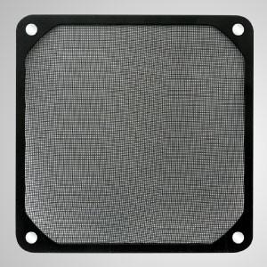 140-mm-Kühlerlüfter-Staubmetallfilter mit eingebettetem Magnet für Lüfter-/PC-Gehäuseabdeckung - 140-mm-Schmelzfilter mit eingebettetem Magneten, der eine einfache Befestigung an jedem Stahlchassis ohne Werkzeug ermöglicht.