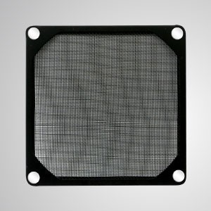 80mm Cooler Fan Dust Metal Filter with Embedded Magnet for Fan / PC Case Cover - 80mm Meltal Filter with Embedded magnet, making you easily attach on any steels chassis without tools.