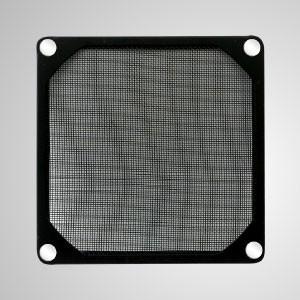 ファン/ PCケースカバー用の埋め込み磁石付き80mmクーラーファンダストメタルフィルター - 磁石が埋め込まれた80mmメルタルフィルターにより、工具なしでスチールシャーシに簡単に取り付けることができます。