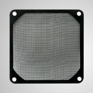 90-mm-Kühlerlüfter-Staubmetallfilter mit eingebettetem Magnet für Lüfter- / PC-Gehäuseabdeckung - 90-mm-Schmelzfilter mit eingebettetem Magneten, der eine einfache Befestigung an jedem Stahlchassis ohne Werkzeug ermöglicht.