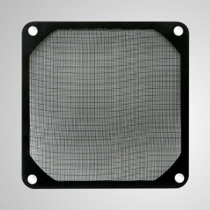 90mm Cooler Fan Dust Metal Filter with Embedded Magnet for Fan / PC Case Cover - 90mm Meltal Filter with Embedded magnet, making you easily attach on any steels chassis without tools.