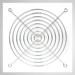 140 мм охлаждающий вентилятор металлический защитный кожух для защиты пальцев - Встроенный магнит позволяет легко закрепить на любом стальном шасси без инструментов.