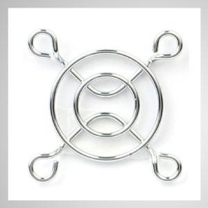 40mm Kühlgebläse Metall Fingerschutzgitter Schutz - Eingebetteter Magnet zum einfachen Anbringen an jedem Stahlchassis ohne Werkzeug.