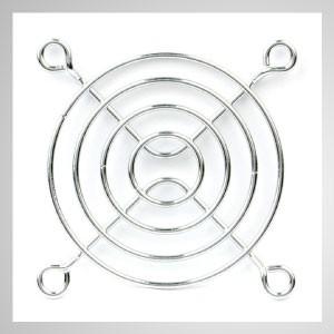 60mm Kühlgebläse Metall Fingerschutzgitter Schutz - Eingebetteter Magnet zum einfachen Anbringen an jedem Stahlchassis ohne Werkzeug.