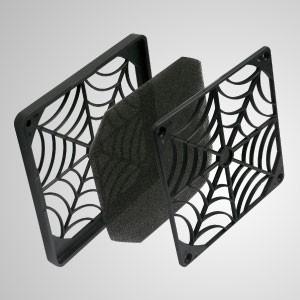 Пылезащитный пластиковый моющийся фильтр с вентилятором 80 мм - Этот пластиковый вентилятор предотвращает попадание пыли на лопасти вентилятора.