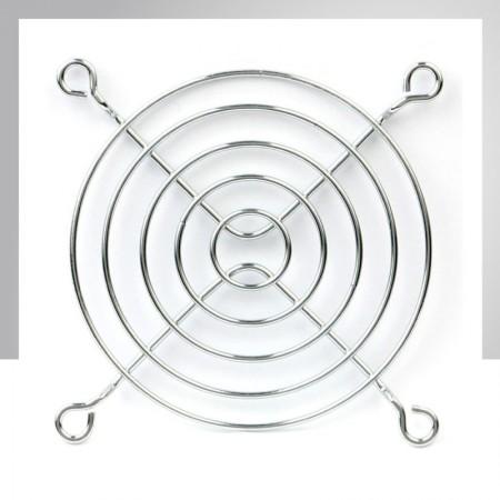 90mm Kühlerlüfter Metall Fingerschutzgitter Schutz - Eingebetteter Magnet zum einfachen Anbringen an jedem Stahlchassis ohne Werkzeug.