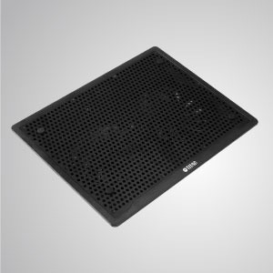 """10"""" - 15"""" Laptop Cooler Cooling Pad with Ultra Slim Portable USB Powered Output - Equipped with two 140mm impressively fan and mesh surface design, this cooler provides strong airflow to lead a great amount of heatsink efficiency."""
