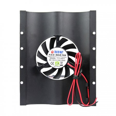 Take mysterious black and fashion design, not only heatsink but also view a unique lifestyle.