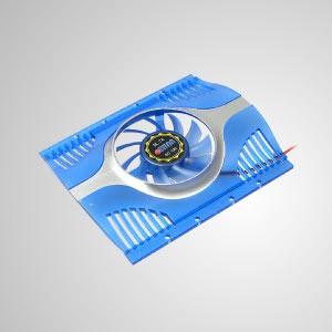 """Enfriador de disco duro de 12 V CC y 3,5 """"con ventilador de enfriamiento de 60 mm (azul) - Ventilador silencioso incorporado de 60 mm, el enfriador de HDD puede reducir efectivamente la temperatura del disco duro. Mantenga la estabilidad y confiabilidad del sistema y mejore la eficiencia operativa."""