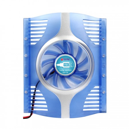 Feature built-in 60mm fan and 3M powerful tape, it can post it on various devices everywhere to resolve overheating problem.