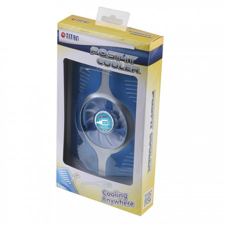 TITAN Mobile Post-it cooling fan package.