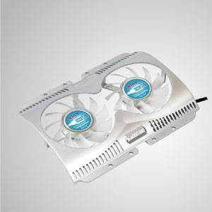 5V DC 60mm Mobile Post-It Cooler USB Fan (deux ventilateurs)