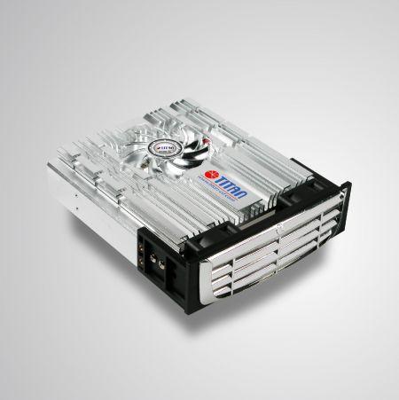 """Enfriador de kit de enfriamiento de montaje HDD de 12 V CC y 5,58 """" - Puede reducir efectivamente la temperatura del disco duro. Además, incluye protector y filtro EMI, mantiene la estabilidad y confiabilidad del sistema y mejora la eficiencia operativa"""
