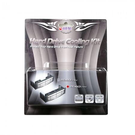 Der eingebaute leise 3x 40-mm-Lüfter kann die Temperatur des HHD senken und die Stabilität und Zuverlässigkeit des Systems gewährleisten.