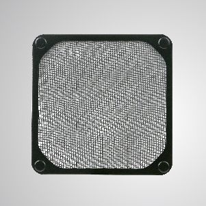 120mm Cooler Fan Dust Metal Filter with Embedded Magnet for Fan / PC Case Cover - 120mm Meltal Filter with Embedded magnet, making you easily attach on any steels chassis without tools.