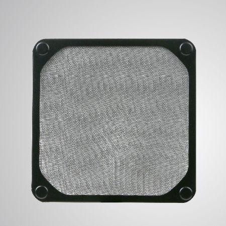 ファン/ PCケースカバー用の埋め込み磁石付き140mmクーラーファンダストメタルフィルター - 磁石が埋め込まれた140mmメルタルフィルターにより、工具なしでスチールシャーシに簡単に取り付けることができます。