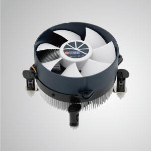Intel LGA 1155/1156 / 1200CPUエアクーラー(アルミニウム冷却フィンと95mm冷却ファン付き)/ TDP 95W