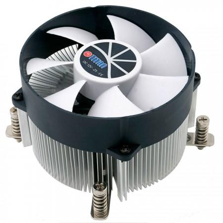 Ausgestattet mit radialen Aluminium-Kühlrippen, einem 35-mm-Sockel aus reinem Kupfer und einem 90-mm-Lüfter ist der CPU-Kühler in der Lage, die Wärmeübertragung zu beschleunigen.