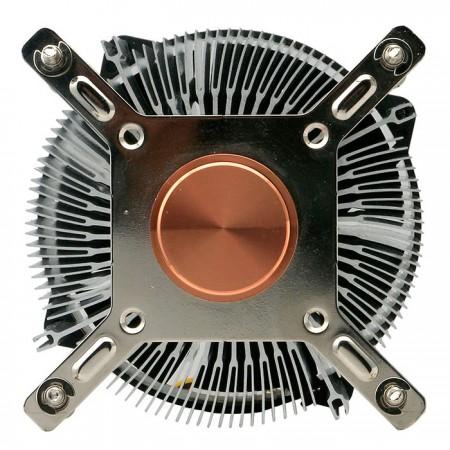 Verbesserte 35-mm-Basis aus reinem Kupfer zur Beschleunigung der Wärmeleitfähigkeit.