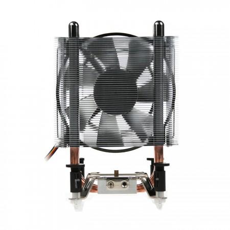 2つの8mm最適化U字型アルミニウムフィンで、ブースト 風量 4本のヒートパイプを操作する場合と同様にギャップのない熱伝達。