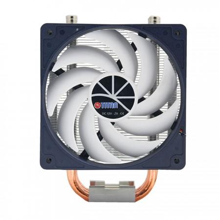 Avec des ventilateurs de 120 mm, il offre des performances de refroidissement et de silence polyvalentes.  Laissez-vous travailler sur une situation confortable.