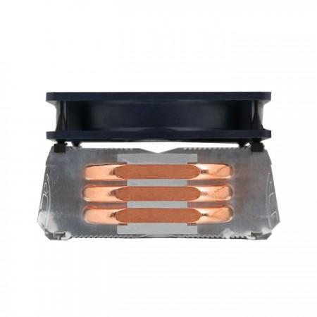 ブーストする3つの最適化されたU字型銅直接接触ヒートパイプ付き 風量 およびCPUの熱放散。