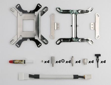 附贈4個防震膠墊,可自行升級為雙風扇,讓使用者能自由彈性利用。