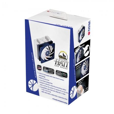 TITAN-CPUクーラーパッケージ。