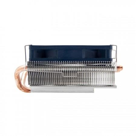 Enfriador de CPU de diseño de baja altura de 1.5U para cajas HTPC delgadas.