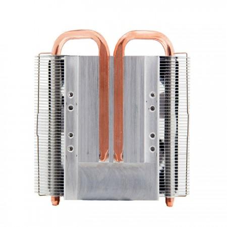 Übertragen Sie mit vier 6-mm-Direktkontakt-Heatpipes den Kühlkörper erheblich aus dem CPU-Betrieb und unterstützen Sie TDP bis zu 130 W.