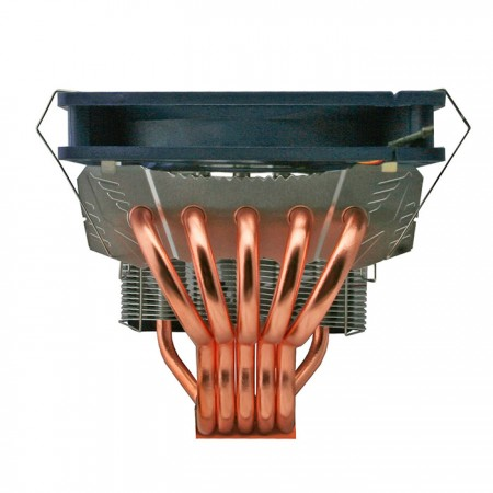 With 5 U-shaped cooper direct contact heat pipes, which equipped TITAN special contact design, this cooler can maximize heat transfer.