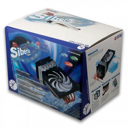 TITAN-CPU散熱器外盒包裝。
