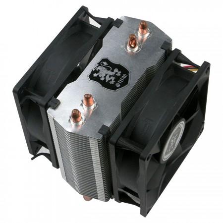 Enthält 8 schwingungsdämpfende Gummischrauben, um einen oder zwei Kühllüfter auszustatten.
