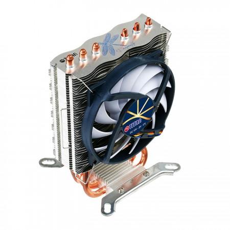 El enfriador universal de CPU es totalmente compatible con la mayoría de los sistemas Intel y AMD.