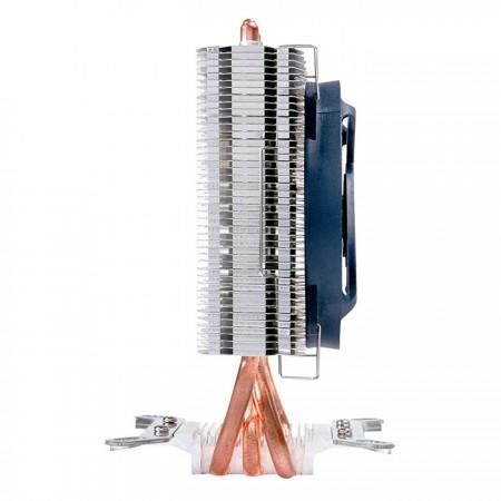 Das Finnen-Design ist so schlank wie Libellenflügel und mit den meisten Motherboards ohne Blockprobleme kompatibel.