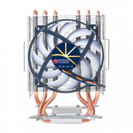 Con el ventilador de microcontrol inteligente exclusivo de TITAN, el control de velocidad es más preciso.