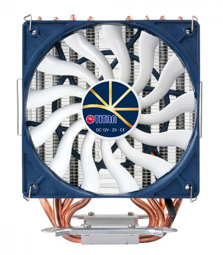 With 120mm intelligent speed control cooling fan, the cooler provides a silent operation experience.