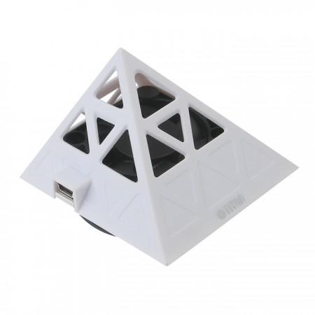 Ausgestattet mit einem 60-mm-Lüfter kann der Luftstrom zentralisiert werden, um die Wärmeübertragung zu beschleunigen und das Telefon kühl zu halten.