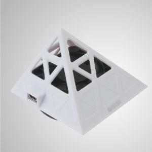 5V DC Pyramid Phone Muti-Adjustable Cooler Stand