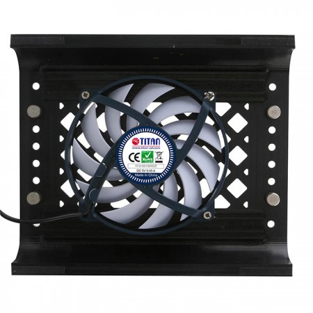 Built-in 90mm fan to take the heat away, effectively reduce temperature for your device.