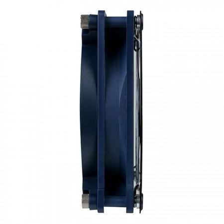 Ventilador con imán integrado con marco de metal, que se puede colocar en una ventana de malla o en una carpa.