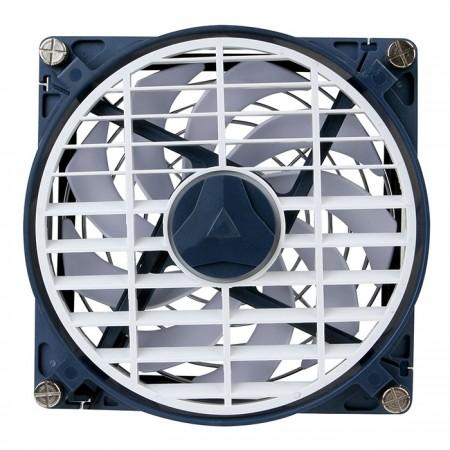 Ventilador silencioso de 140 mm para reducir la temperatura.