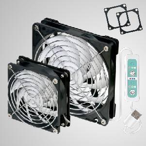 Ventilateur 5V DC avec cadres à double aimant pour ventilateur de fenêtre de toit pour toilettes et salle de bain RV - Ventilateur portatif de fenêtre de toit de toilette de RV