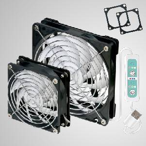 5V DC USB Mobile Portable Cooling Fan with Double Magnet Frames for Mesh Netting, RV Screen door, Window Screen, Camping Tent, Rooftop Tent