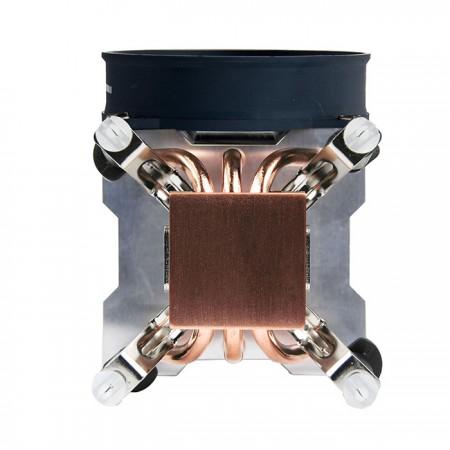 Basis aus reinem Kupfer zur Verbesserung des Kühlkörpers.