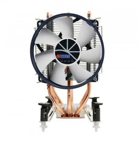 Avec 3 caloducs à contact direct, transférez considérablement le dissipateur thermique du fonctionnement du processeur et augmentez le flux d'air.